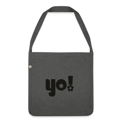 Yo - Skuldertaske af recycling-material