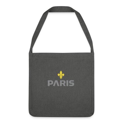 Paris Grey Lys Concept - Sac bandoulière 100 % recyclé