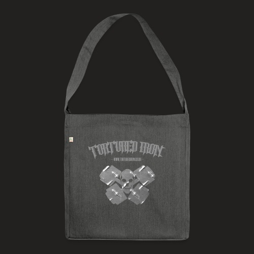 skull - Shoulder Bag made from recycled material