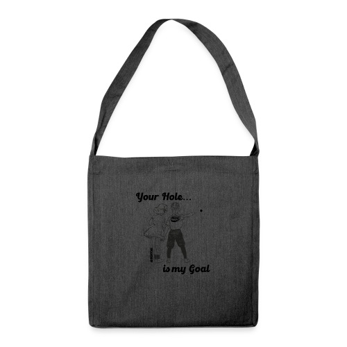 YourHole1 - Schultertasche aus Recycling-Material