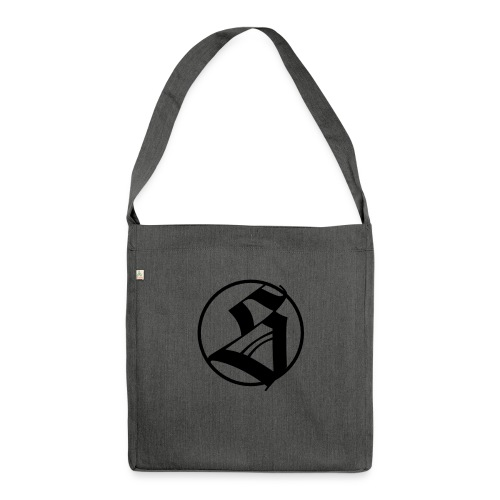 s 100 - Schultertasche aus Recycling-Material