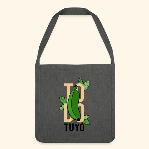 Camiseta Platanera TODO TUYO (LAVAINA) - Bandolera de material reciclado
