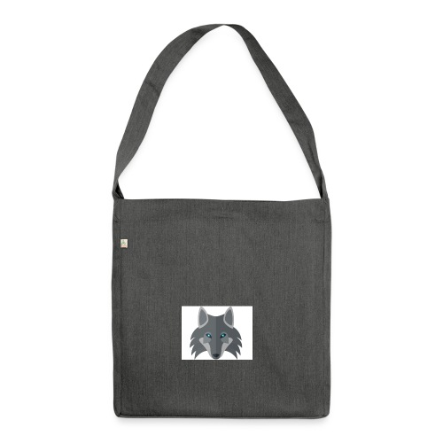 Wolf Channel - Shoulder Bag made from recycled material
