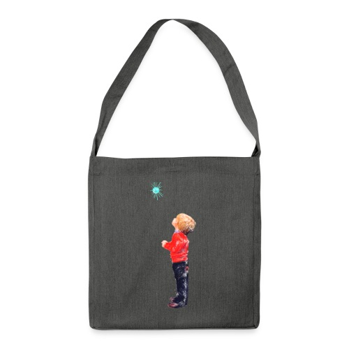 The Boy and the Blue - Shoulder Bag made from recycled material