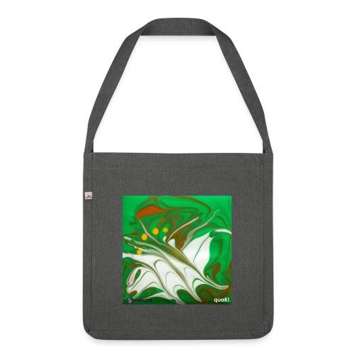 TIAN GREEN Mosaik CG002 - quaKI - Schultertasche aus Recycling-Material