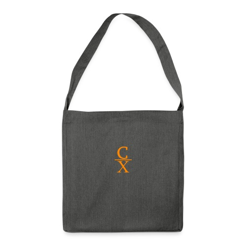 CHARLES CHARLES SHORTENED LOGO - Shoulder Bag made from recycled material