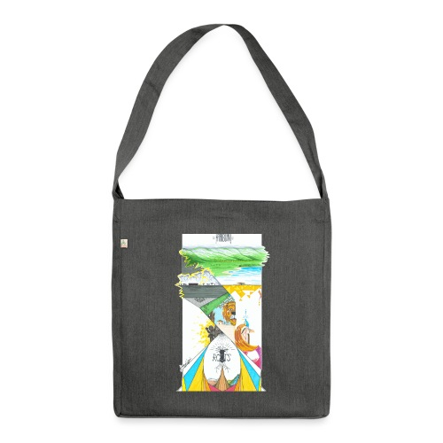 KARIBUNI - Shoulder Bag made from recycled material
