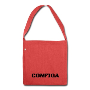 Configa Logo - Shoulder Bag made from recycled material
