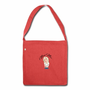 Nina Nice Portrait - Schultertasche aus Recycling-Material