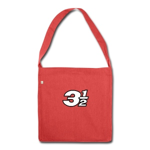 Three and a Half Logo - Shoulder Bag made from recycled material