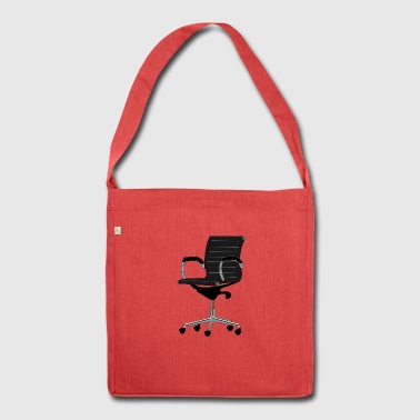 office chair - Shoulder Bag made from recycled material