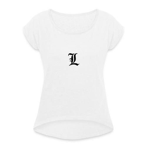 Luca - Frauen T-Shirt mit gerollten Ärmeln