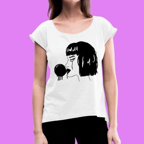 Becks - Maglietta da donna con risvolti