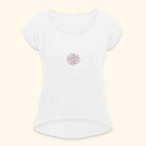 Fleur Vema - T-shirt à manches retroussées Femme