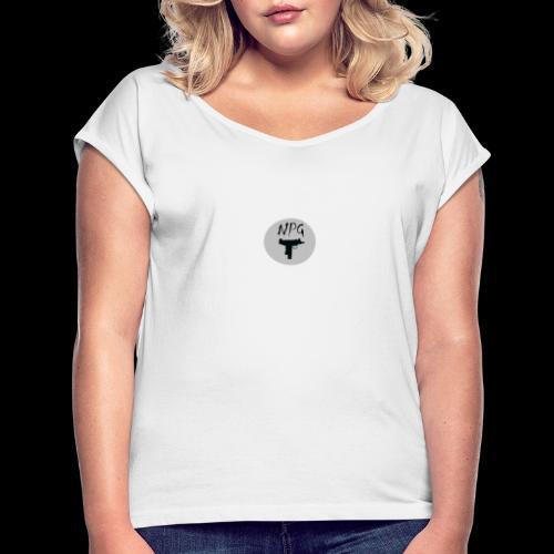 NPG - Frauen T-Shirt mit gerollten Ärmeln