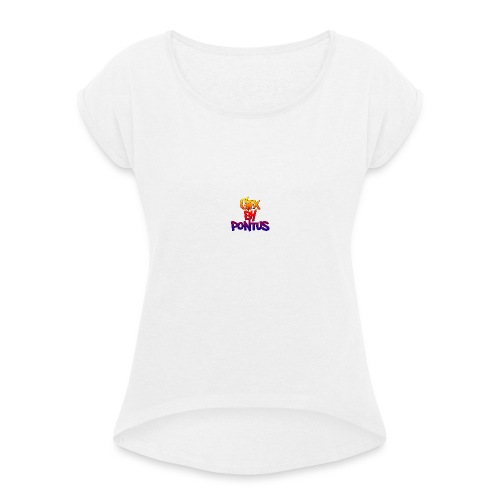 GFX By Pontus mugg - T-shirt med upprullade ärmar dam