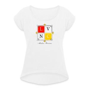 LVNC - T-shirt à manches retroussées Femme