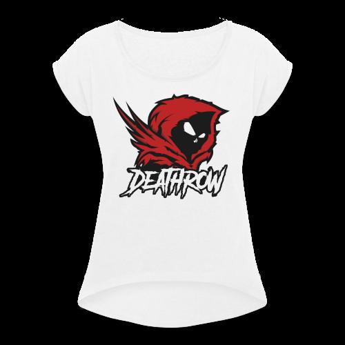 DeathRow_V1 - T-shirt à manches retroussées Femme