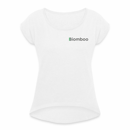 Biomboo Charcoal - Women's T-shirt with rolled up sleeves