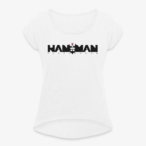 LOGO HANUMAN PLAYGROUND - T-shirt à manches retroussées Femme