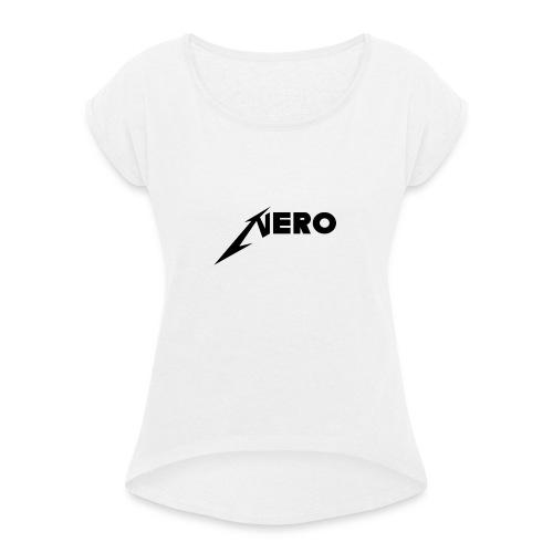 Nero Merch Vol.1 - Frauen T-Shirt mit gerollten Ärmeln