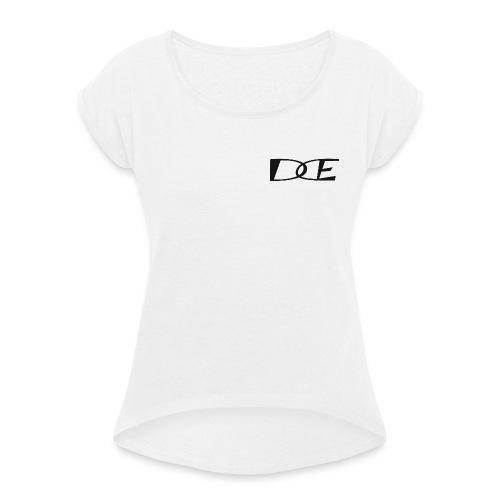 Dode Merch - Frauen T-Shirt mit gerollten Ärmeln
