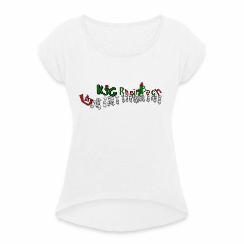 Ameisen - Frauen T-Shirt mit gerollten Ärmeln