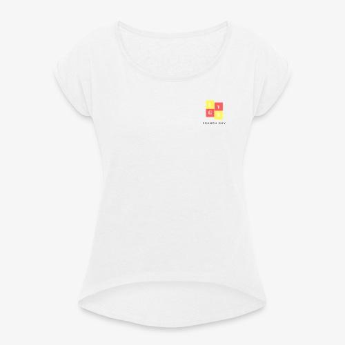 French Guy 1 - T-shirt à manches retroussées Femme