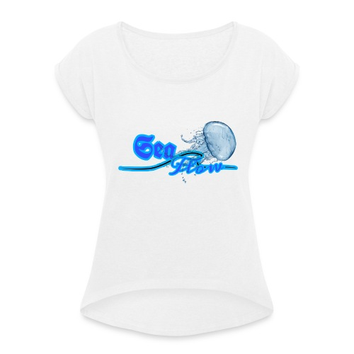Sea Flow logo medusa abbigliamento - accessori - Maglietta da donna con risvolti