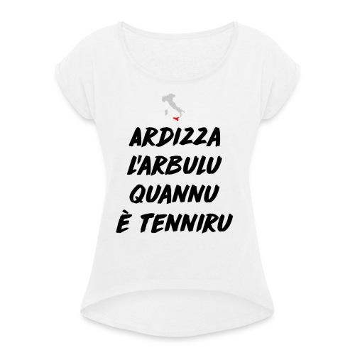 Sicilia - Maglietta da donna con risvolti