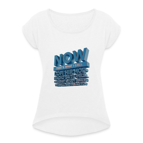 NTWIC - Women's T-shirt with rolled up sleeves