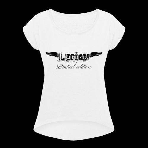 Legion édition limité - T-shirt à manches retroussées Femme