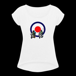 Mods - Women's T-shirt with rolled up sleeves