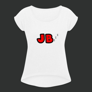 JB PJ's - Women's T-shirt with rolled up sleeves