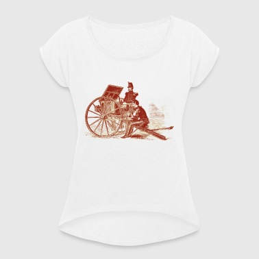 cannon - Women's T-shirt with rolled up sleeves