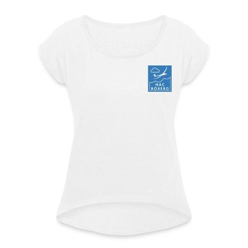 HAC - Frauen T-Shirt mit gerollten Ärmeln
