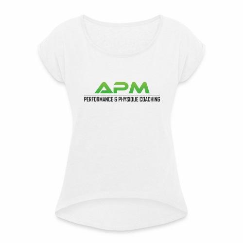 APM - Frauen T-Shirt mit gerollten Ärmeln