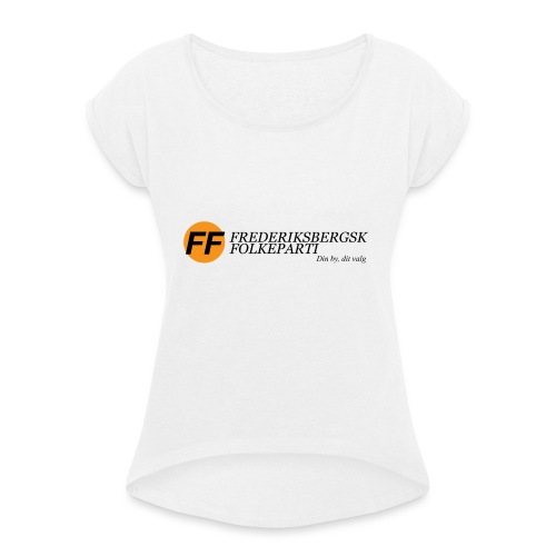 Din by, dit valg - Bestsellere - Dame T-shirt med rulleærmer