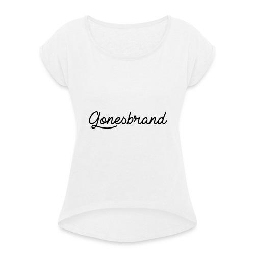 GonesBrand - T-shirt à manches retroussées Femme