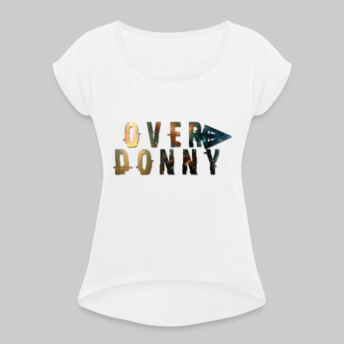 Over Donny [Arrow Version] - Maglietta da donna con risvolti