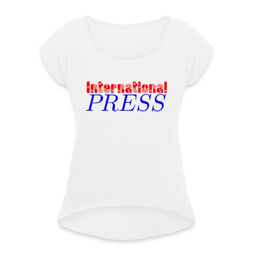 int_press-png - Maglietta da donna con risvolti