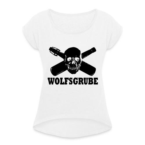 Wolfsgrube shit 2016 - Frauen T-Shirt mit gerollten Ärmeln