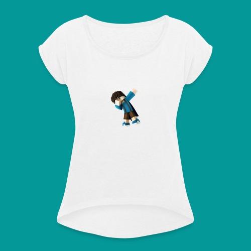 SixtyOne - Frauen T-Shirt mit gerollten Ärmeln