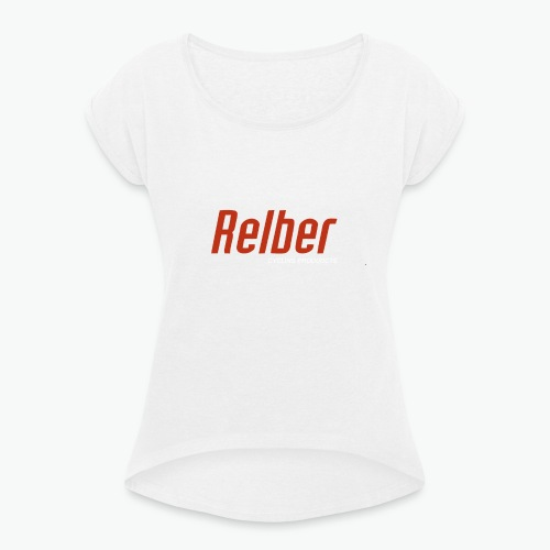 Relber Cycling - Camiseta con manga enrollada mujer