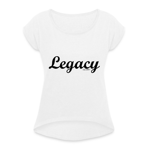 Legacy Original - Light - Women's T-Shirt with rolled up sleeves