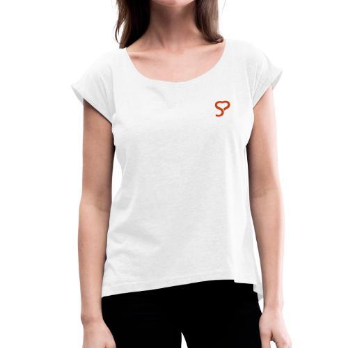 Münchner Singles Lifestyle Collection - Frauen T-Shirt mit gerollten Ärmeln