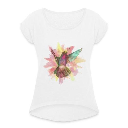 BillyBird - Frauen T-Shirt mit gerollten Ärmeln