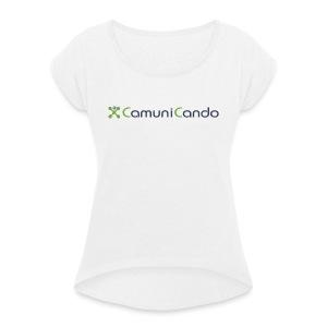 CamuniCando - Maglietta da donna con risvolti