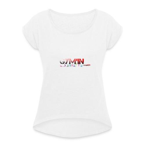 gym'in project - T-shirt à manches retroussées Femme