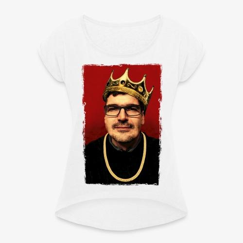 Notorious D.K.B - Frauen T-Shirt mit gerollten Ärmeln